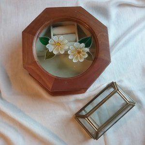 Jewelry Boxes Glass & Wood, Gunther Mell HOST PICK
